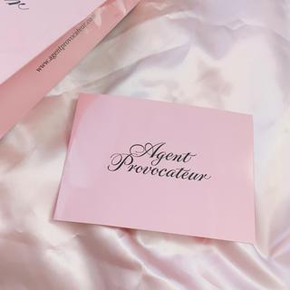 ヴィヴィアンウエストウッド(Vivienne Westwood)の非売品 Agent Provocateur ポストカード ギフトカード(その他)