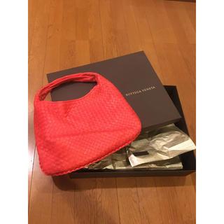 ボッテガヴェネタ(Bottega Veneta)のボッテガヴェネタ ホーボー バッグ オレンジ  箱つき 正規店購入(ハンドバッグ)