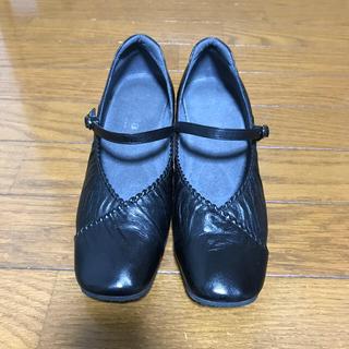 アシックス(asics)のアシックス  ペダラ  サイズ22.5   EE  ウォーキングシューズ(ローファー/革靴)