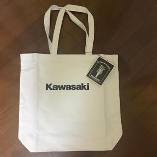 カワサキ(カワサキ)のKawasaki 白トートバッグ(トートバッグ)