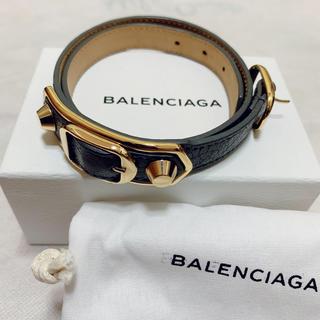 バレンシアガ(Balenciaga)のBALENCIAGA レザー ブレスレット(ブレスレット/バングル)
