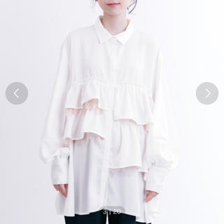 メルロー(merlot)のメルロー シャツ ワンピース(Tシャツ(長袖/七分))