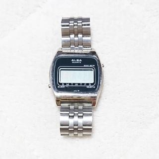 アルバ(ALBA)のALBA  QUARTZ  ヴィンテージ  ⌚︎(腕時計(デジタル))