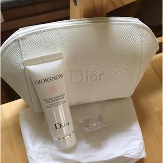 ディオール(Dior)の【新品未使用】Dior スノーホワイト・ミスディオール・ポーチセット(その他)