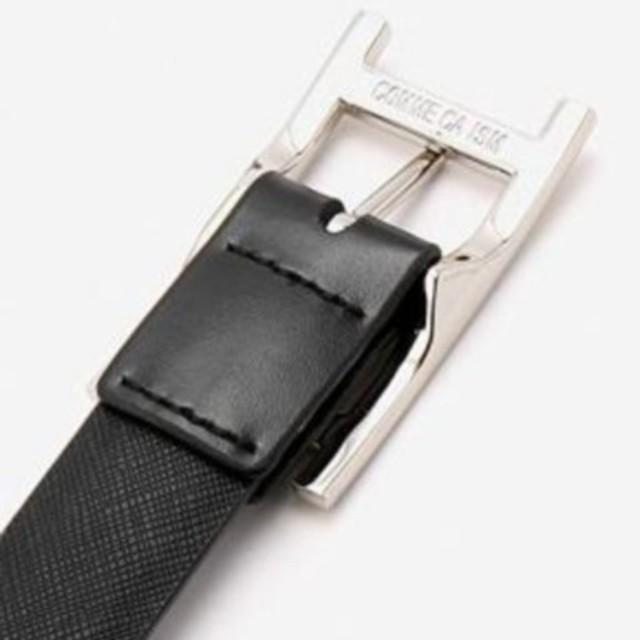 COMME CA ISM(コムサイズム)のコムサイズム タグ付き リバーシブルベーシックベルト153 レディースのファッション小物(ベルト)の商品写真