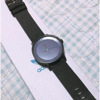 adidas - 【大幅値下げ✨】adidas originals 腕時計 ブラック×パープル