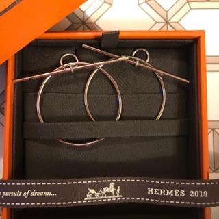 エルメス(Hermes)の希少  エルメス  ループ  ピアス  新品  正規品(ピアス)