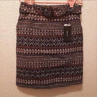 アベイル(Avail)の新品 Avail ゴブラン タイト スカート♥L GU(ミニスカート)