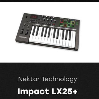 Nektar Technology Impact LX25+(MIDIコントローラー)