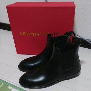 オリエンタルトラフィック(ORiental TRaffic)のorientaltraffic♡サイドゴアレインブーツ♡Mサイズ♡新品未使用♡(レインブーツ/長靴)