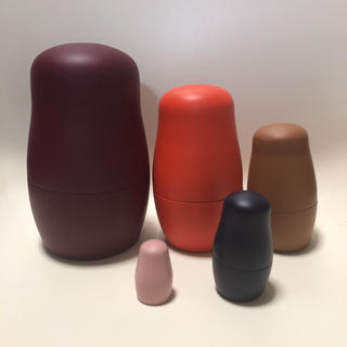ACTUS - 新品 BoConcept マトリョーシカ 小物入れ 5個組