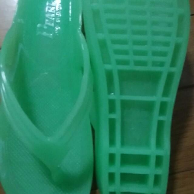 ギョサン No95 夜光グリーン 女性用 L 新品 レディースの靴/シューズ(ビーチサンダル)の商品写真