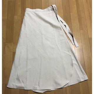 ナチュラルクチュール(natural couture)のラップ巻きスカート(ロングスカート)