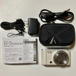 CASIO - CACIO ZR-3200 デジタルカメラ(ホワイト)