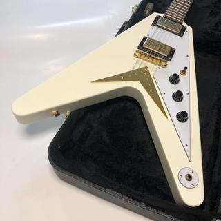 エピフォン(Epiphone)の【ほぼ新品/限定】Epiphone by Gibson FlyngV コリーナ(エレキギター)