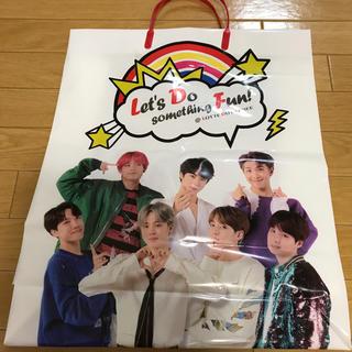 ボウダンショウネンダン(防弾少年団(BTS))のBTS 韓国 免税店 ショップバック(ショップ袋)