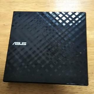 エイスース(ASUS)の中古    ASUSのDVD+R  DL外付ドライブ(PC周辺機器)