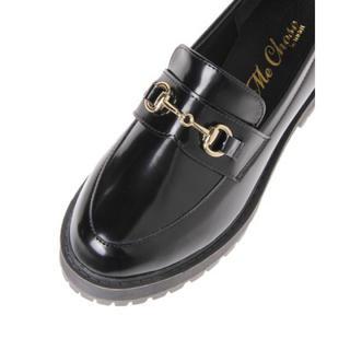 新品♡定価6490円 光沢ツヤローファー  BLACK  M、Lサイズ(ローファー/革靴)