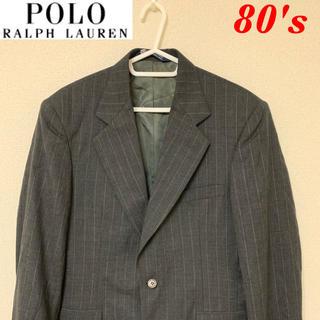 ポロラルフローレン(POLO RALPH LAUREN)の80's ポロラルフローレン スーツジャケット  USA製(テーラードジャケット)
