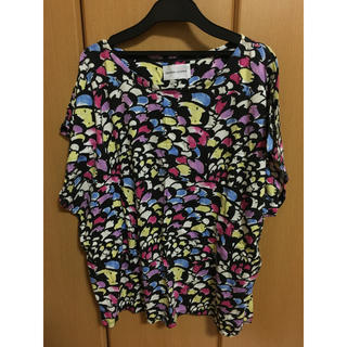 ツモリチサト(TSUMORI CHISATO)のツモリチサト 総柄Tシャツ(Tシャツ(半袖/袖なし))