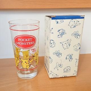 ポケモン(ポケモン)のピカチュウ グラス コップ(グラス/カップ)