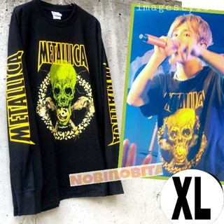 ONE OK ROCK - XL)長袖 METALLICA  NOLEAFCLOVER ロックTシャツ