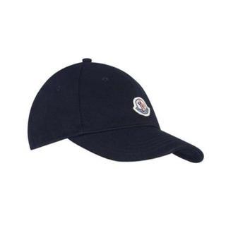 モンクレール(MONCLER)のモンクレール キッズ キャップ 帽子 ネイビー 4-6y(帽子)