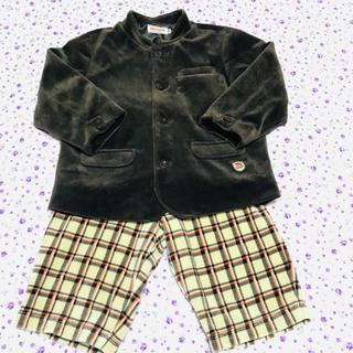 ミキハウス(mikihouse)のミキハウス ジャケット パンツ セットアップ 100size(ドレス/フォーマル)
