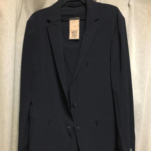 COMME CA MEN(コムサメン)のコムサメン  スーツ ヒートウェルディングセットアップジャケット&パンツ メンズのスーツ(セットアップ)の商品写真