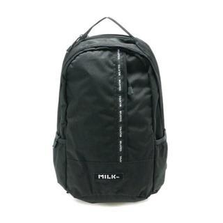 MILKFED. - ミルクフェド☆VERTICAL LG LINED BK♪定価10800円◎新品