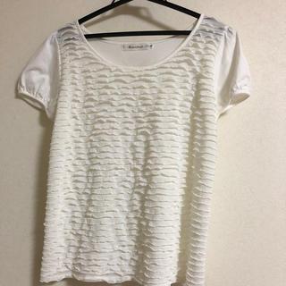 クチュールブローチ(Couture Brooch)の値下げしました‼️couture broochの白のTシャツ(Tシャツ/カットソー(半袖/袖なし))