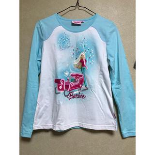 バービー(Barbie)の美品 Barbie女児トップス 小学校高学年向き(Tシャツ/カットソー)