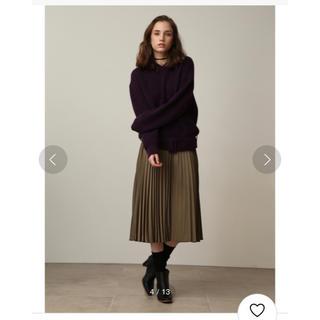 ミラオーウェン(Mila Owen)のミラオーウェン ミモレ丈 プリーツスカート ♡(ロングスカート)