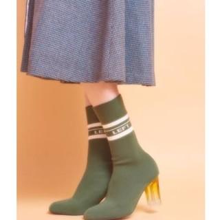 リルリリー(lilLilly)のリルリリー LILICIOUS ソックスブーツ(ブーツ)