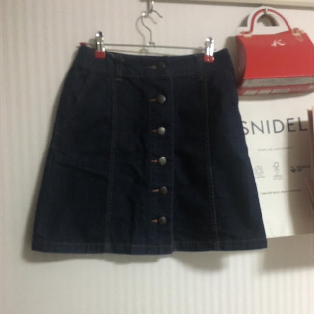 LOWRYS FARM(ローリーズファーム)のローリーズファーム デニムタイトスカート  レディースのスカート(ミニスカート)の商品写真