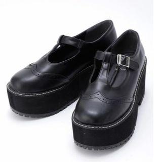 アンクルージュ(Ank Rouge)のJamie エーエヌケー 厚底シューズ(ローファー/革靴)