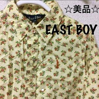 イーストボーイ(EASTBOY)の☆美品☆キッズ EAST BOY シャツ 小花柄 110cm 男の子にも♪(ブラウス)