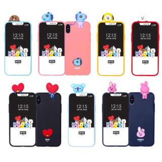 ボウダンショウネンダン(防弾少年団(BTS))のBT21 携帯ケース Galaxy iPhone(モバイルケース/カバー)