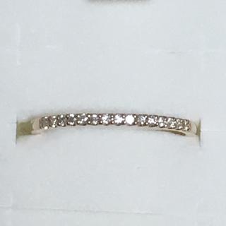 カナルヨンドシー(canal4℃)の4°c K18ダイヤモンド リング  新品未使用品(リング(指輪))