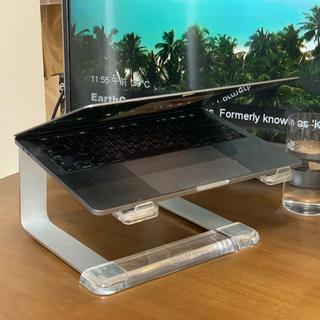 組み立て式 パソコン スタンド(オフィス/パソコンデスク)
