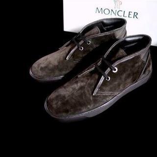 モンクレール(MONCLER)の正規品 モンクレール チャッカブーツ MONCLER 43 28cm(ブーツ)
