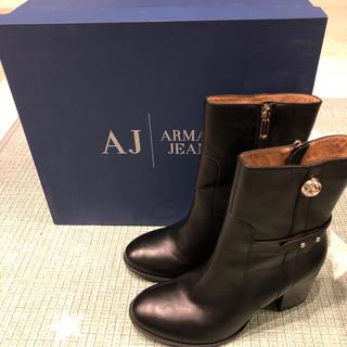 ARMANI JEANS - ARMANI JEANS アルマーニ ショートブーツ