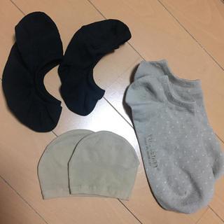 ムジルシリョウヒン(MUJI (無印良品))の靴下 3点セット(ソックス)