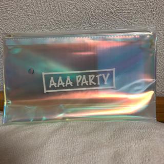 トリプルエー(AAA)の【新品】クリアポーチ(ポーチ)