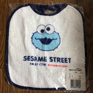 SESAME STREET - セサミストリート  クッキーモンスター よだれかけ スタイ