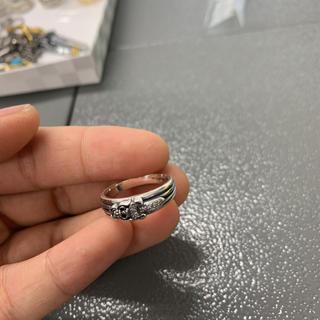 シルバー925、ダガーリング、シルバーリング、シンプルリング(リング(指輪))