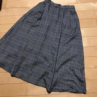 ナチュラルクチュール(natural couture)の新品♡グレンチェック スカート(ロングスカート)