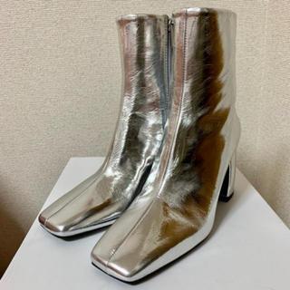 アメリヴィンテージ(Ameri VINTAGE)のアメリヴィンテージ SQUARE HELPFUL BOOTS(ブーツ)