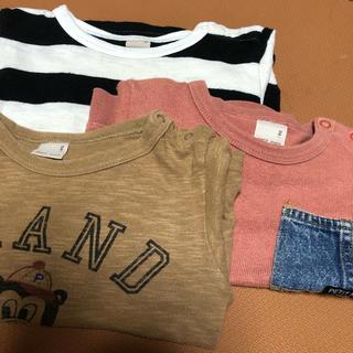 プティマイン(petit main)のプティマイン   3点セット 90(Tシャツ/カットソー)