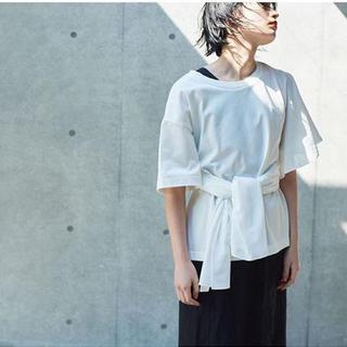 ローズバッド(ROSE BUD)のmici リボンtee(Tシャツ(半袖/袖なし))